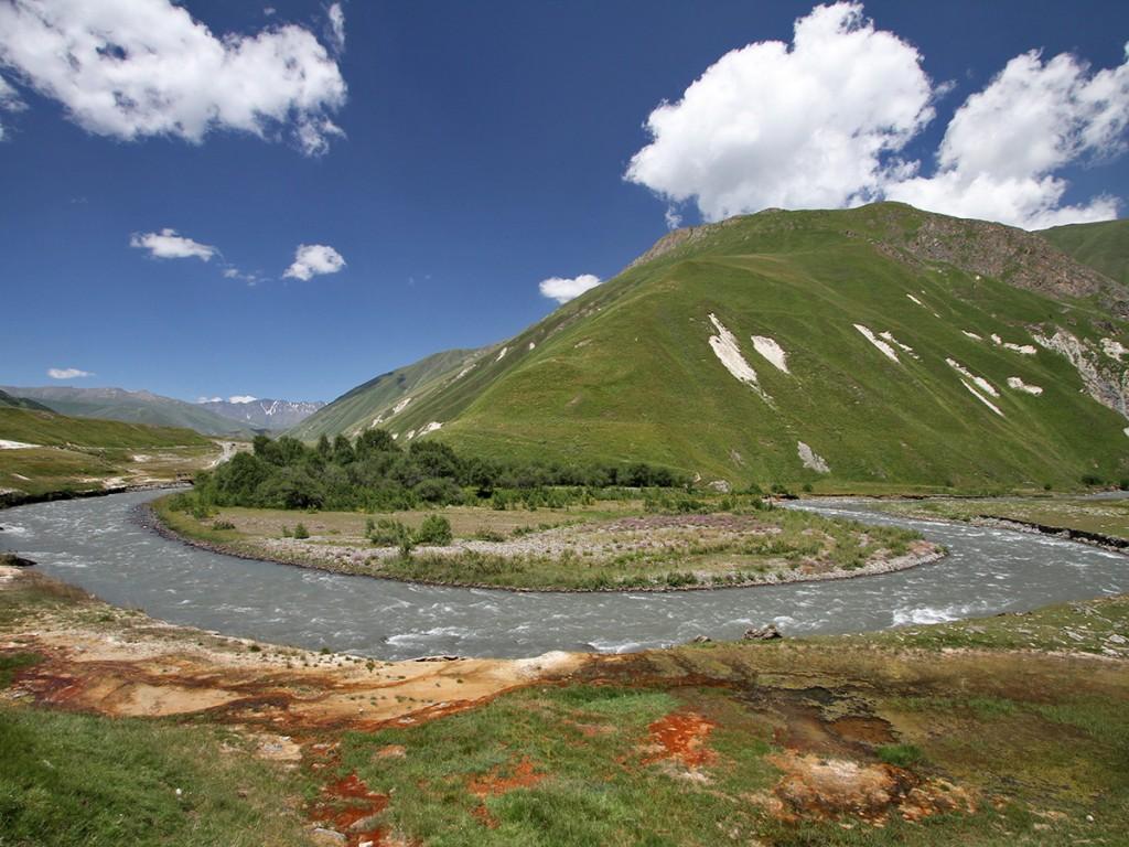wandelen georgië-Truso-vallei-