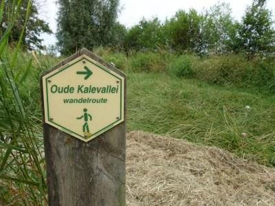 Markering Oude Kalevalleiroute