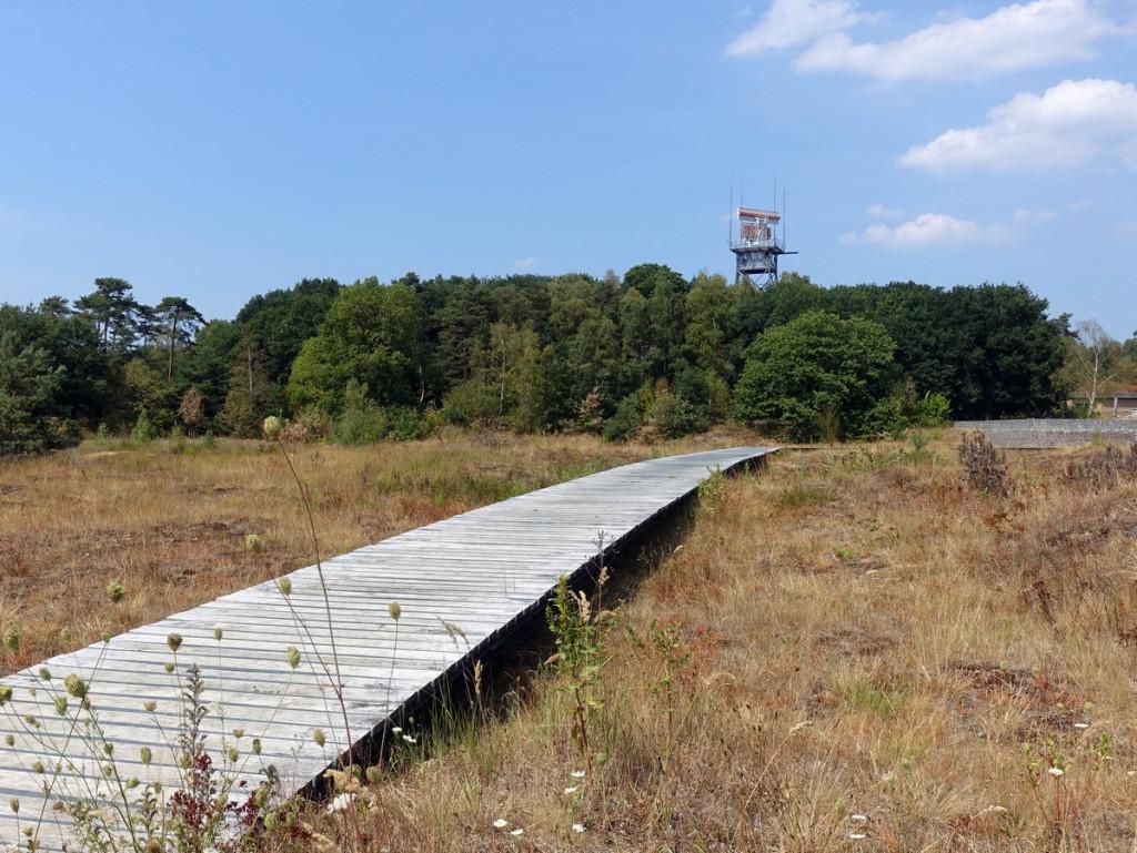 Vlonderpad park vliegbasis Soesterberg
