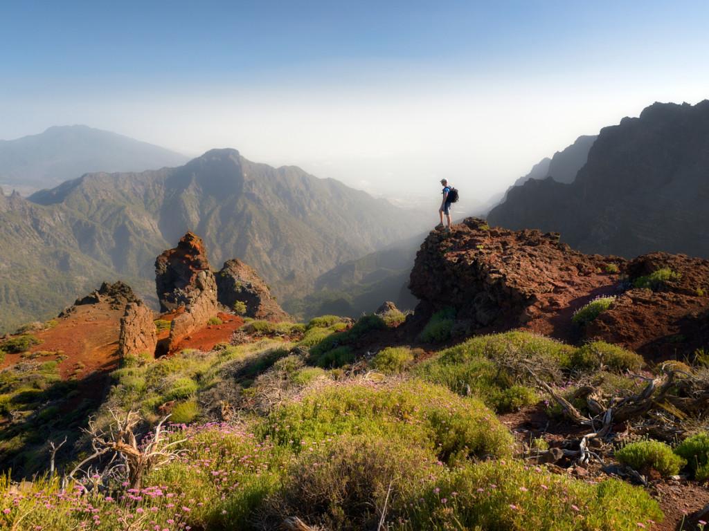Een panoramapunt zoals je die tijdens de Vulkanenroute tegen zou kunnen komen op La Palma_foto credits Dominic Dahncke - Visit La Palma - klein