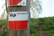 Markering NS-wandeling