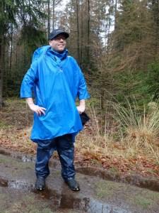 Wandelen in de regen Jack Wolfskin