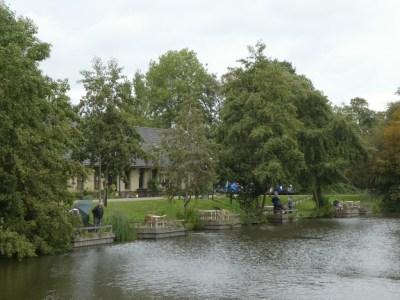 Zicht op de gehandicapten visvereniging Abcoude