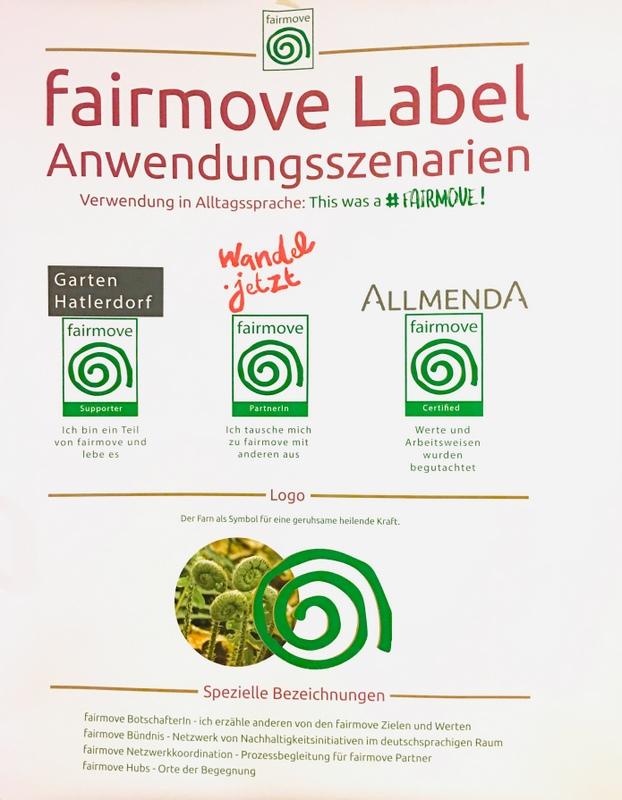 Fairmove Label Vorschlag