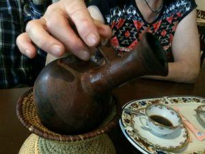 Ethiopische koffiekan