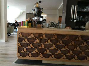 Bar van lunchroom 'Op de Hoek'