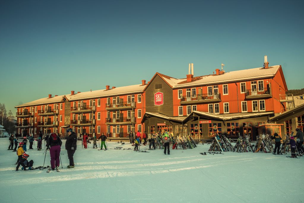 Ski lounge Branäs