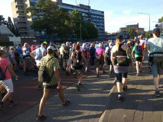 Dag van Cuijk 4daagse Nijmegen 2018