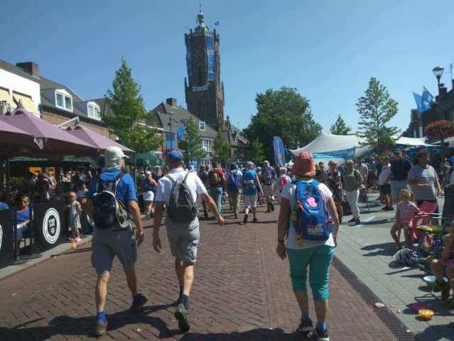 Dag van Elst zit er weer op 4daagse Nijmegen 2018