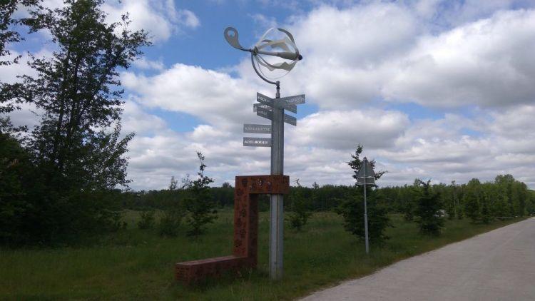 Route Zeewolde via fietsknooppunten