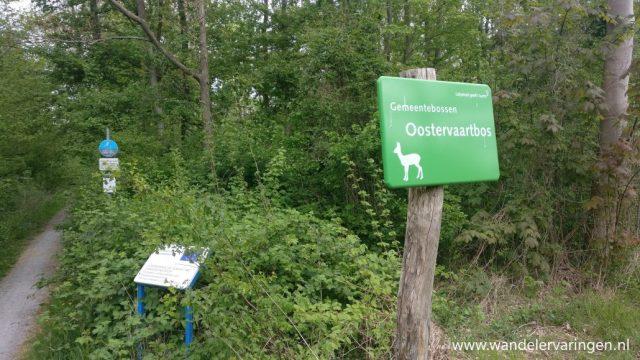 Wandelen in de bossen van Lelystad