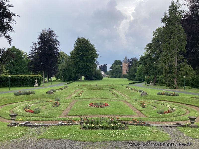 Het park van Edingen