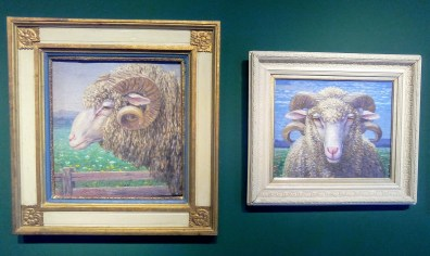 Josef Madlener: Schafe