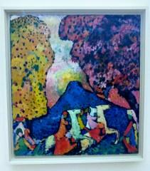 Wassily Kandinsky: Der Blaue Berg (1908/09)