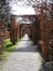Ingang Wandelpark vanaf Grotestraat