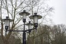 Lantaarns in Wandelpark