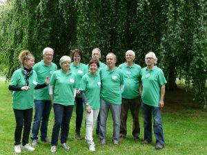 foto Team Stichting Wandelpark Waalwijk