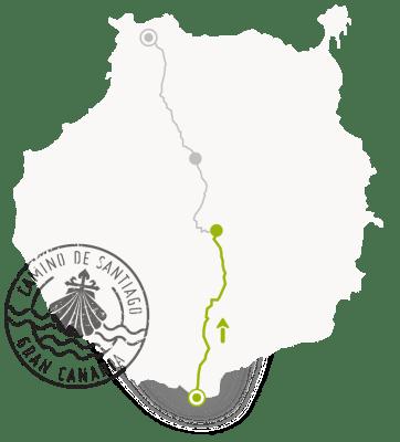 Etappe 1 Santiago de Compostela