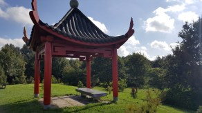 Wandelbankje September 2017 Arboretum Assen