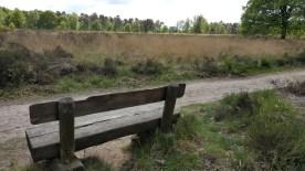 Wandelbankje Mei 2017 NP de Meinweg Limburg