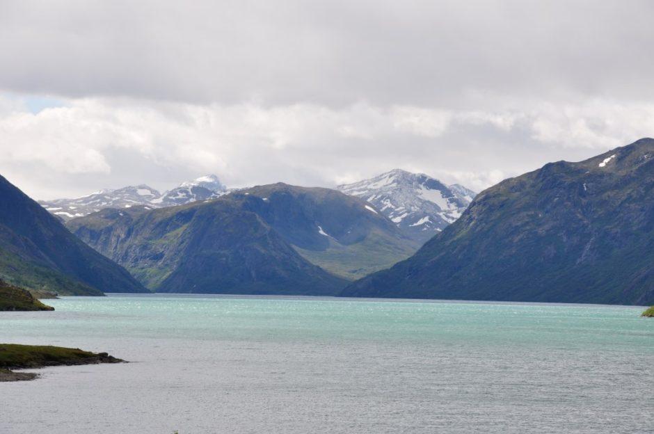 Noorwegen Gjende meer