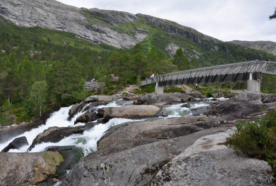 Noorwegen Likholfossen