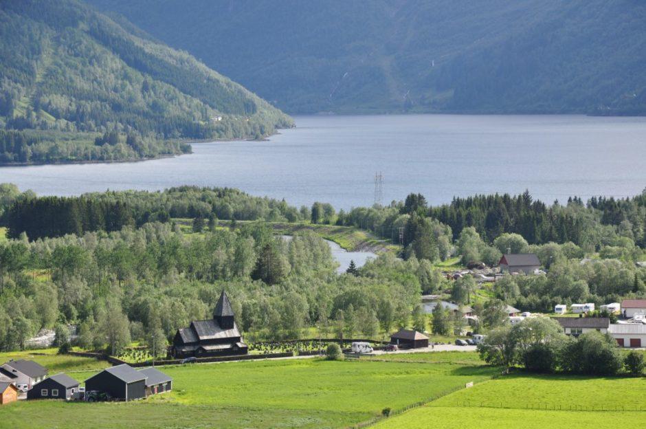 Noorwegen Røldal staafkerk