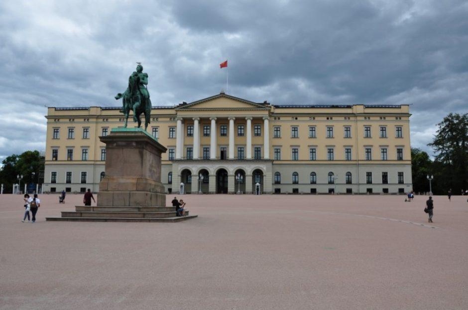 Noorwegen paleis Koning Oslo
