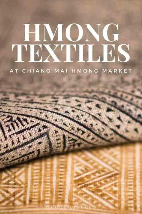 Warorot Market; talat Warorot; Chiang Mai Hmong Market; Warorot Market guide; Chiang Mai Thailand; where to buy Thai Hmong textiles
