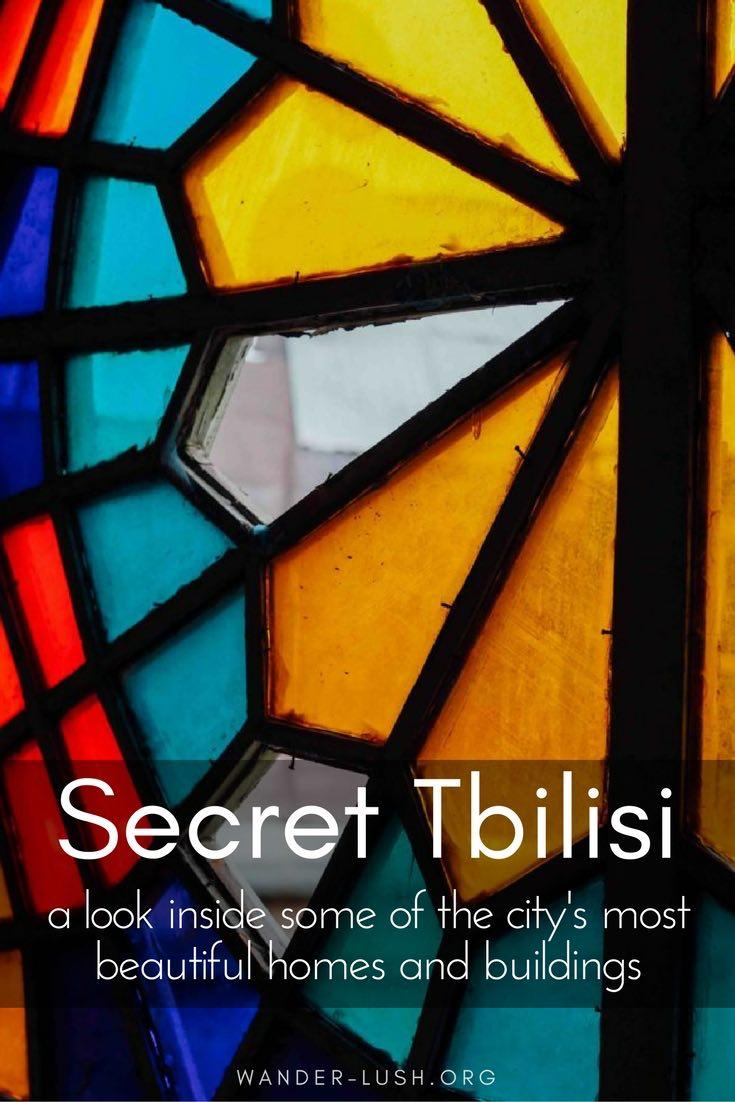 Go exploring in some of Tbilisi's most beautiful houses and public buildings!