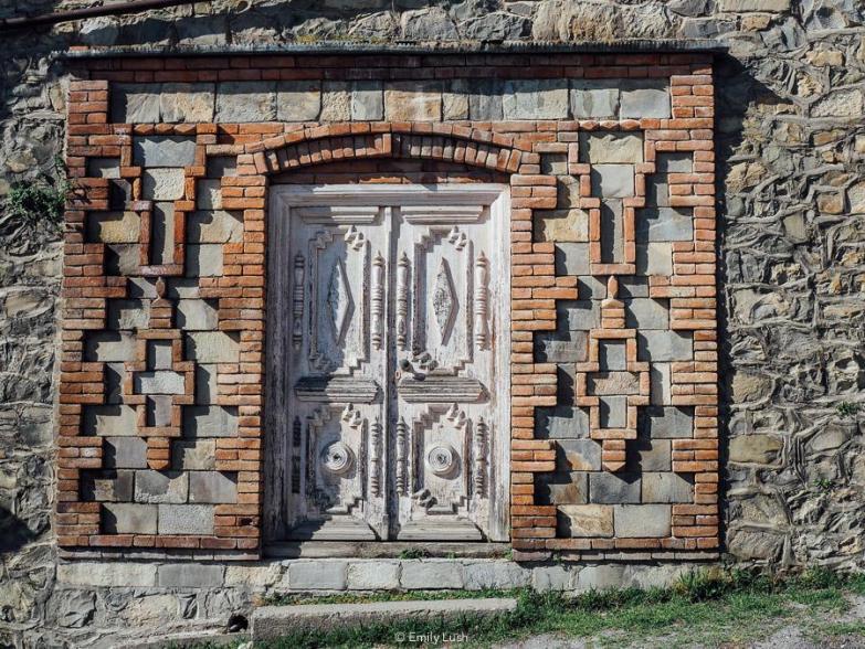 An ornate doorway.