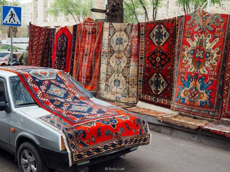 © Emily Lush 2018 | Vernissage Market | Things to do in Armenia Yerevan
