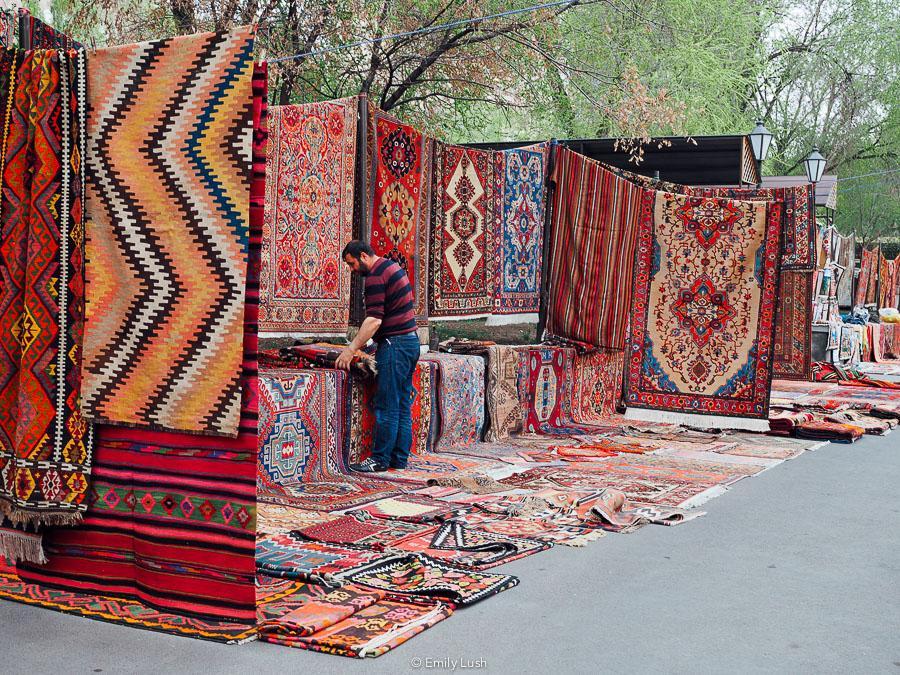 © Emily Lush 2018   Vernissage Market   Things to do in Armenia Yerevan