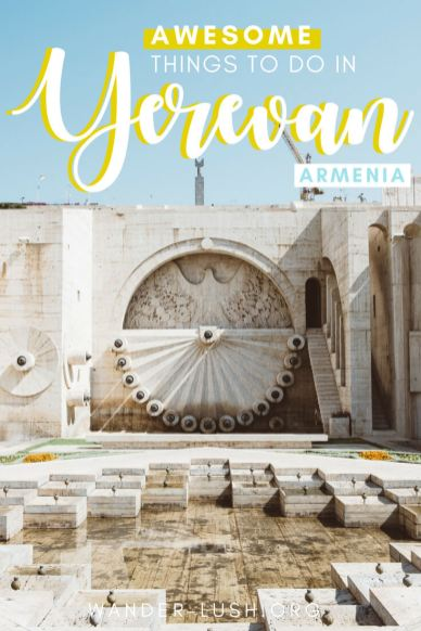 Yerevan is a dynamic, multicultural city with so much to offer travellers. I completely fell in love with Yerevan when I visited Armenia in 2017. Here's my list of top things to do in Armenia Yerevan, including museum and galleries, markets, and the little things that make Yerevan special.