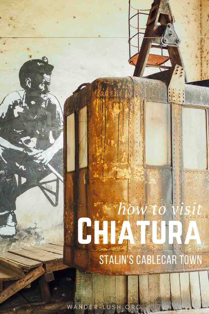 Complete guide to visiting Chiatura, Stalin's cable car town - best hidden destination in Georgia.