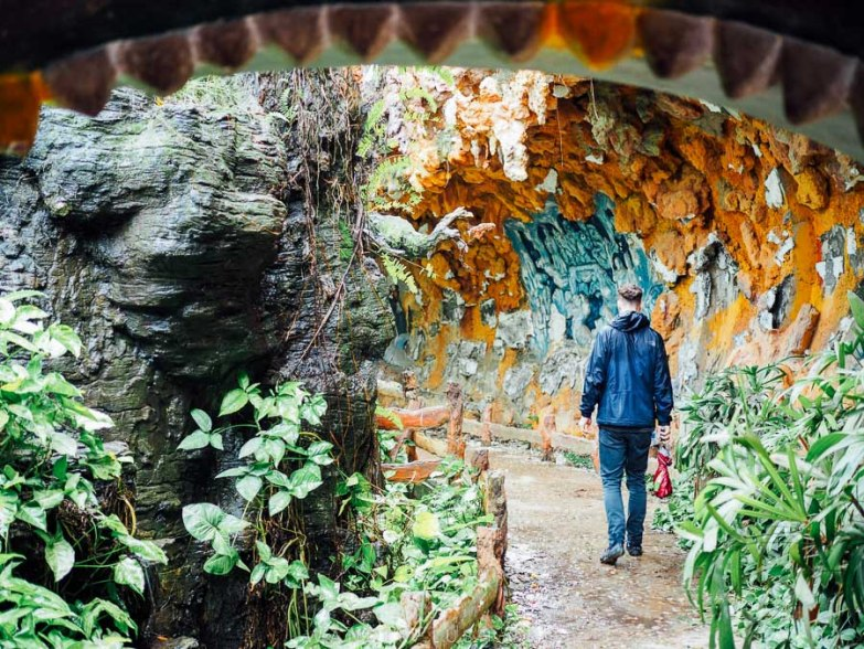 Your complete guide to visiting Ho Thuy Tien, the famous abandoned dragon waterpark in Hue, Vietnam. Includes photos, transport info & travel tips.