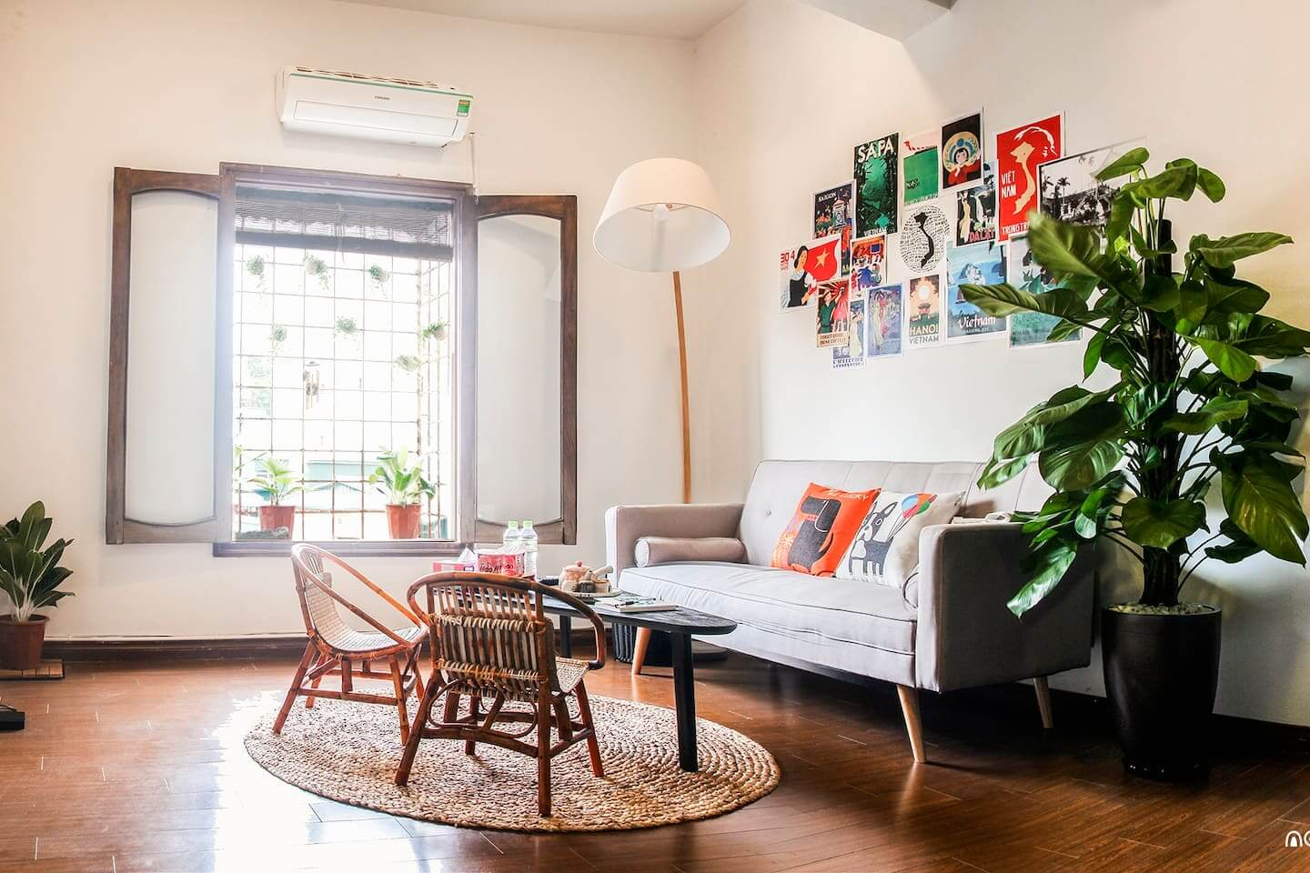 Full of Lights Hanoi Airbnb. Image courtesy of Airbnb.