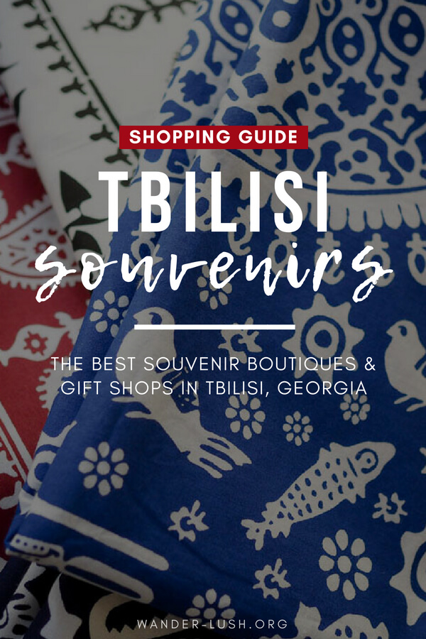 Looking for a souvenir or two to bring home from Georgia? Forget the mass-produced knickknacks! This gift shop Tbilisi guide shows you where to find the best handmade, authentic Tbilisi souvenirs.