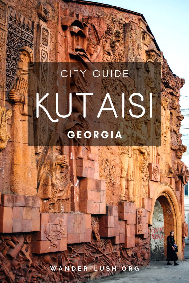 Kutaisi, Republic of Georgia | Serviced by cheap Wizz Air flights from Europe but often overlooked by tourists, Kutaisi is one of Georgia's most charming destinations. It's also a jumping-off point for Imereti—a region rich in natural beauty and historical landmarks. Here are my top things to do in Kutaisi, organised into a handy 3-day itinerary.