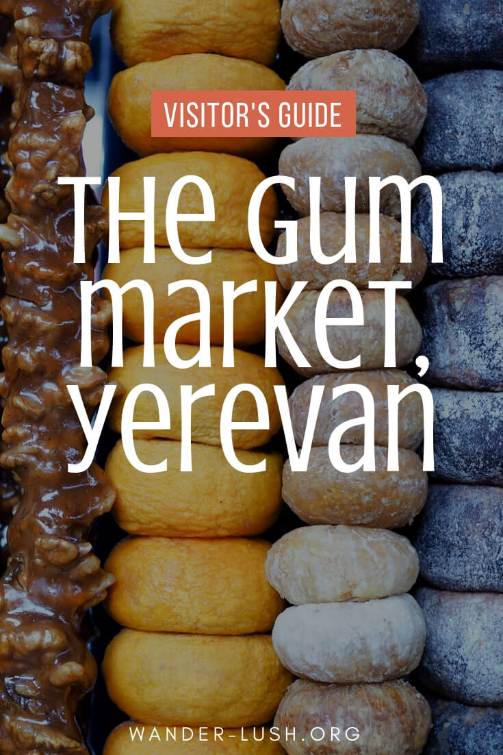 A guide to visiting the GUM Market Yerevan, Armenia's biggest lavash bread and fresh food market and the best Yerevan market to visit in the city! | © Emily Lush 2017