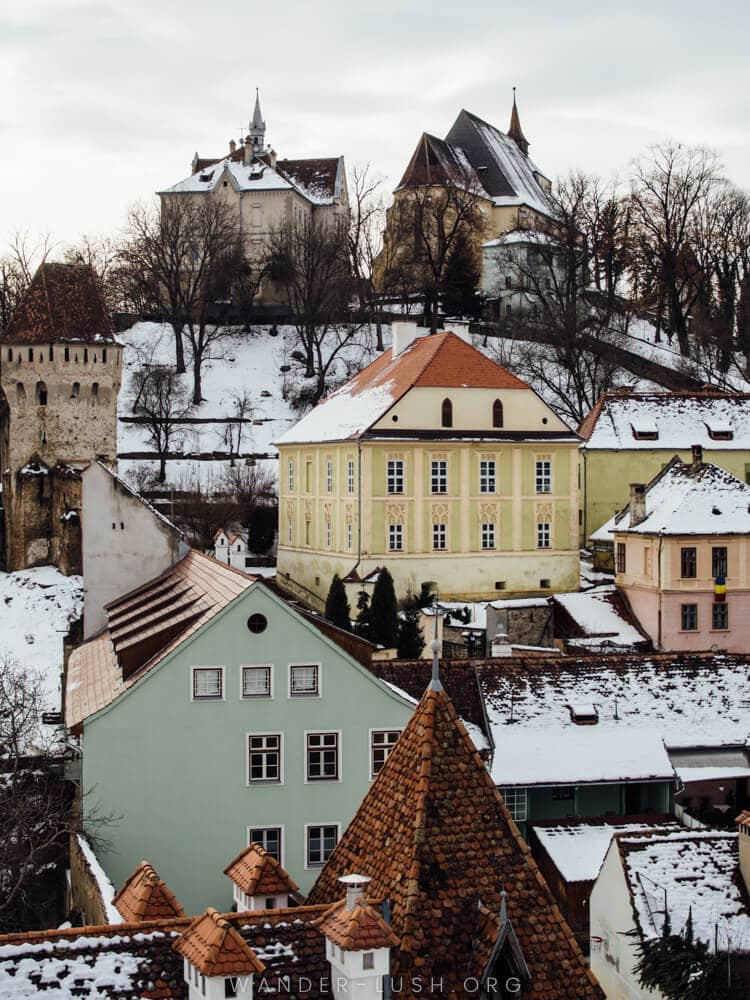 Sighisoara's UNESCO-protected Historic Centre is a must-see in Transylvania. Here are my best photos of Sighisoara, plus a list of the best things to do in Sighisoara, Romania.
