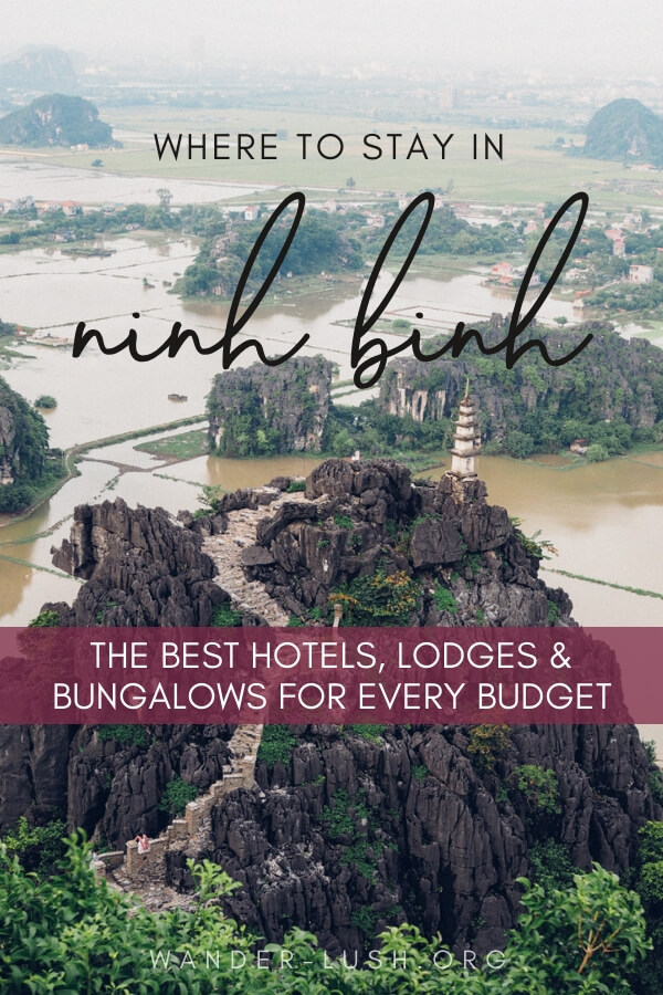 Looking for a place to stay in Ninh Binh, Vietnam? This round-up of Tam Coc hotels, hostels, bungalows and resorts has something for every budget!