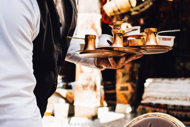 Coffee: One of Sarajevo's many Ottoman-inspired traditions | A Sarajevo food tour gives a perfect introduction to the city's culture and history. Here's what to expect from a food tour with local company, Balkantina.