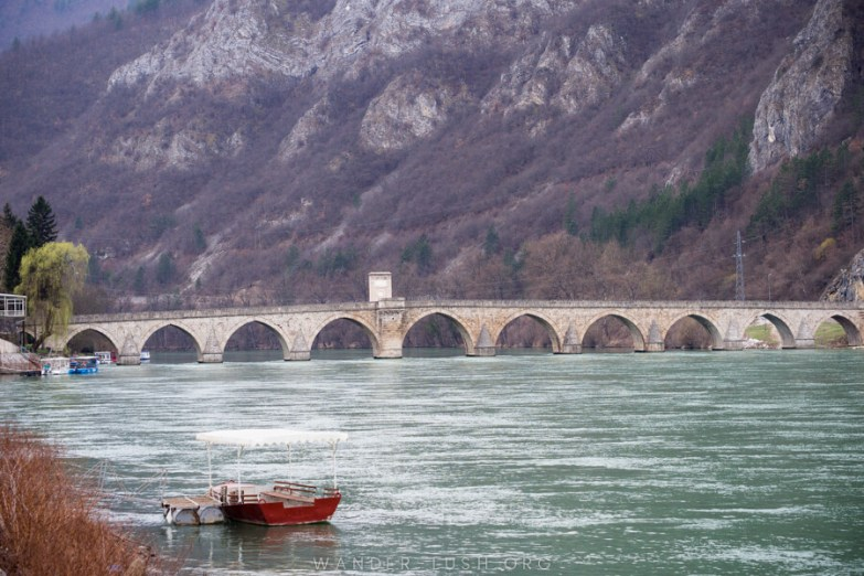 Travelling to Bosnia & Herzegovina? Don't miss the 'Bridge on the Drina'. This day trip from Sarajevo to Visegrad also visits Tara National Park in Serbia.