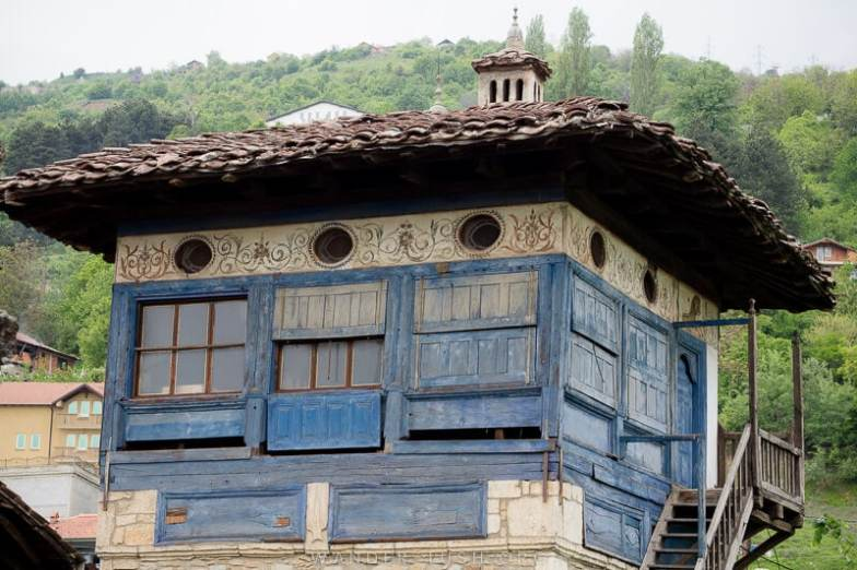 Looking for an easy day trip from Skopje? Here's how to visit 2 of the country's top religious sites, Tetovo Mosque & Arabati Baba Teke, by bus | One of the buildings inside the Dervish complex.