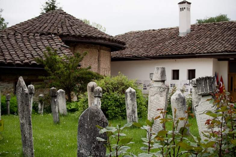 Looking for an easy day trip from Skopje? Here's how to visit 2 of the country's top religious sites, Tetovo Mosque & Arabati Baba Teke, by bus | The Dervish Monastery in Tetovo.