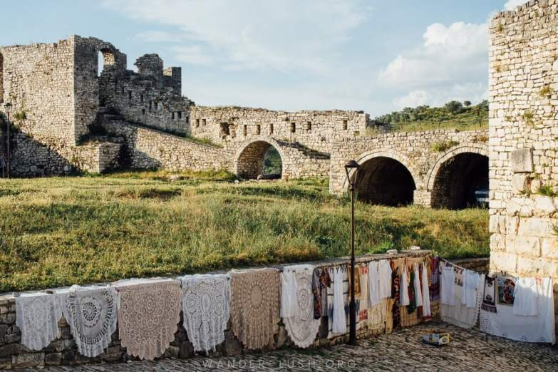 Berat Castle, one of the best things to do in Berat.