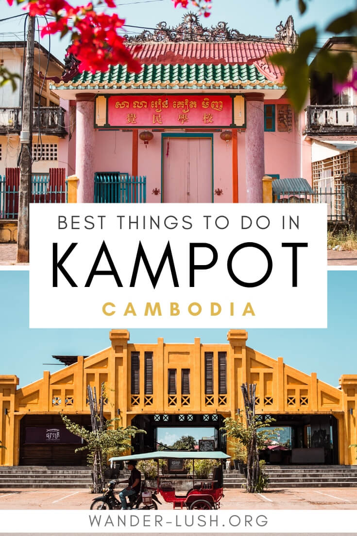 The ultimate Kampot travel guide – includes the best things to do in Kampot, Kampot secrets, Kampot day trips, and where to eat and drink.