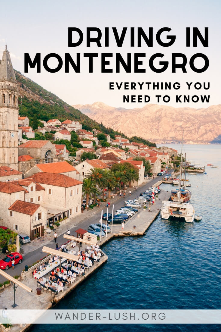 Thinking of taking a road trip in Montenegro? Here are the essential things you should know before you rent a car in Podgorica.