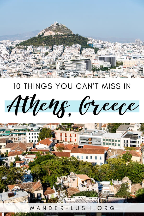 Wondering what to see in Athens, Greece? This guide to the top 10 things to do in Athens is your recipe for the perfect visit.